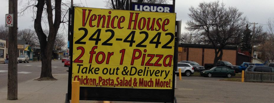 Venice House - 2 for 1 pizza